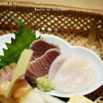 ひろ寿 - マグロとホタテ