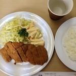 洋食 キラク - ビーフカツ