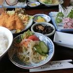 磯料理マルゴ - 黄金定食 1500円