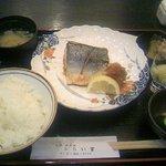 神田赤かぶ ふらい家 - さば塩焼き定食