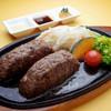 Grillマッシュ - 料理写真:大人の極上ハンバーグNEW お肉はA4、A5等級の黒毛和牛肉の100%!3種類のソースで。