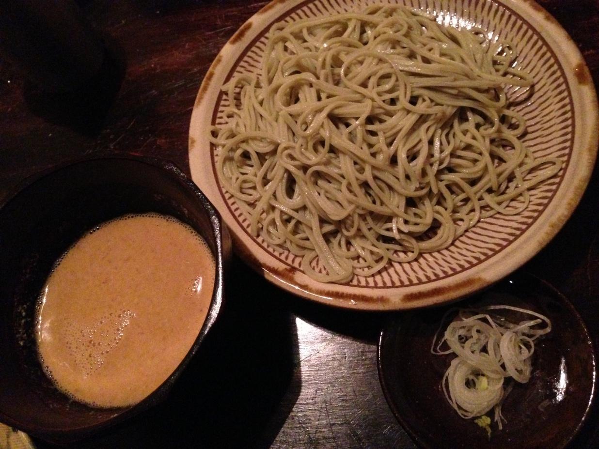 蕎麦 シカモア