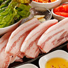 DRAGON純豆腐 - 料理写真:厚み1センチの国産サムギョプサル