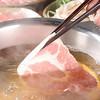 とんかつ 豚しゃぶ 友禅 - 料理写真:絶品の豚しゃぶは、やみつきになります!