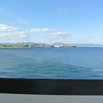 魚いち亭 - 窓からの景色