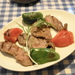 アンカラ - キュル バストゥ(1,680円)ラム肉を250g使用