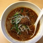 ラーメン厨房 シルクロード - 挽肉醤辣麺(800円)