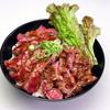 レッドロック - 料理写真:●ステーキ丼(大盛)●肉もやわらかジューシー
