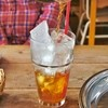 ジューンベリー - 料理写真:目の前で氷に注いで下さいました。