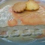 錦帯茶屋 - お茶と一緒に付くクッキー