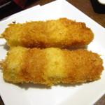 イタリアンバル 小麦 - 豚串かつ@180円/本