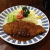 ハチロー - 料理写真:ランチのカツ定食(700円)2013年4月