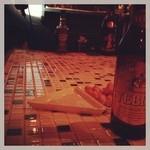十三くま - ビールとピーナツとタイル