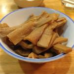 大沢食堂 - メンマ。