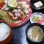18492148 - 焼肉サラダ定食