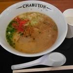 チャブトン - ちゃぶとんらぁ麺¥700。