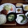 かみんぐ - 料理写真:自家製ハンバーグ定食(1200円)