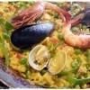 エル・シッド - 料理写真:バカラオのパエリャ(スペイン産タラの塩漬け)