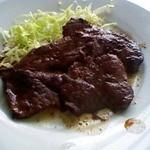 鯨食堂 - 料理写真:定食の鯨ステーキ