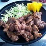 鯨食堂 - 料理写真:竜田揚げ定食600円