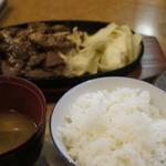 ぱっぷHOUSE - 焼き肉ランチ 600円