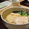 座忘庵 - 料理写真:筍うどん(期間限定)