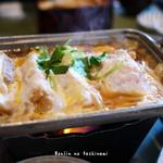 田むら 銀かつ亭 - 料理写真:豆腐かつ煮御膳