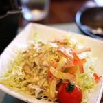田むら 銀かつ亭 - サラダ