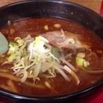 光林坊 - 黒味噌生姜ラーメン700円