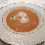 レストラン ラ・メール - 料理写真:伊勢エビのクリームスープ