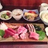 あやめ - 料理写真:刺身定食(卵焼き・納豆付)