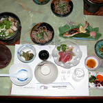 濁河温泉ロッジ - 料理写真:夕飯