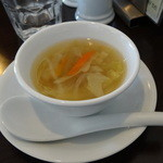 洋食ワタナベ - スープ付き