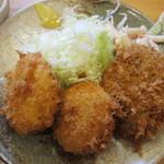 丸幸洋食店 - コロッケアップ