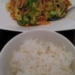 18570560 - ¥1500ランチの春キャベツと押し豆腐の炒め