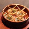 スペインバル ピー - 料理写真:本場マドリッドの味を再現!マッシュルームの陶板焼き