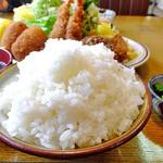 キッチン中 - ライス(大盛り)