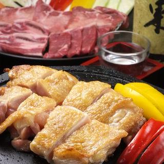 名物桜島溶岩焼き!お肉を健康的で美味しく食べるならこれ!!