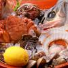 楽家 - 料理写真:朝採れの魚介も日によってさまざま♪