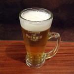 だんだん - 生ビール580円