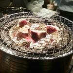 本格焼酎と炭火ホルモン焼き - 2013.4