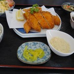海産物 えんがん - 料理写真:ミックスフライ定食1,200円
