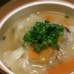 東銀座 羅豚 - 煮 物:水餃子