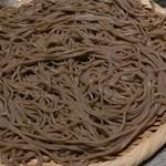 東銀座 羅豚 - 〆 :山形玄蕎麦(2人前)
