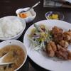 華中華 - 料理写真:唐揚げ定食