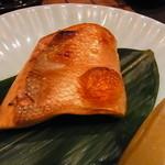 18644208 - 鮭児ハラス焼き