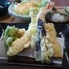 澤生 - 料理写真:天ぷらと卵焼き(本日のランチ)