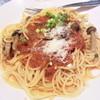 ロワッシイ - 料理写真:シメジのトマトソーススパ