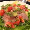 鎌倉フェリーチェ - 料理写真:キハダマグロのカルパッチョはサラダしたてにしてもらいました