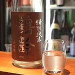 地酒喝采 かも蔵 - 鶴齢 特別純米 山田錦 おりがらみ